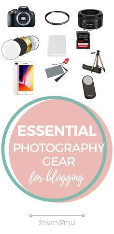 11 Essential Photography Supplies For Bloggers
