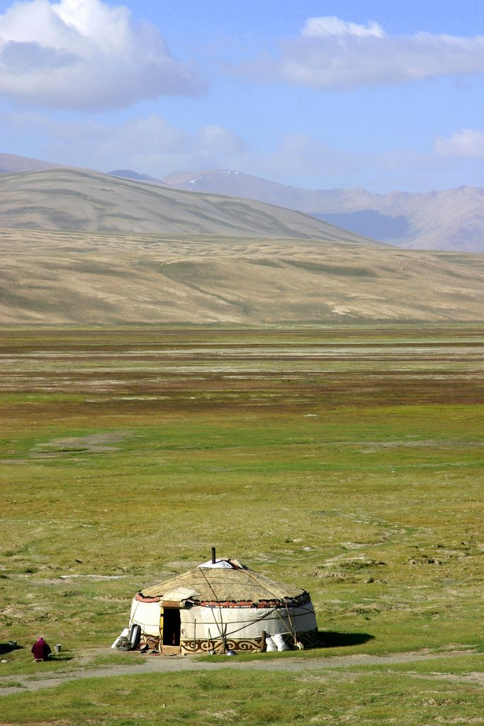 Home on the Mongolian Steppe. The Eurasian Steppe has been home to nomadic empires and many large tribal confederations and ancient states throughout history.                                                  Flickr - Photo Sharing!