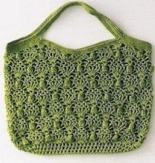 Tina's handicraft : crochet bag