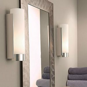 352 best lighting images on pinterest ceiling lighting - Bathroom vanity mirror side lights ...