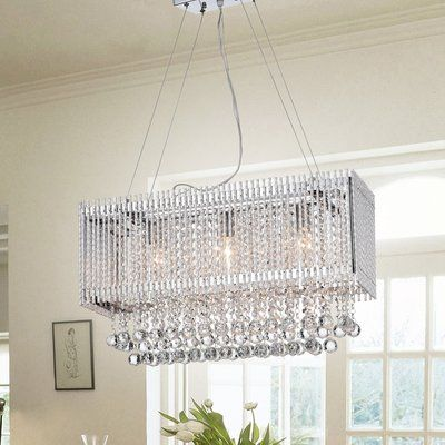 4 Light Lantern Square Rectangle Pendant Cool Floor Lamps Chandelier Chandelier Ceiling Lights