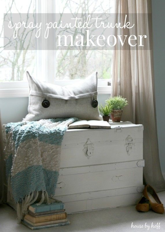 Spray Painted Trunk Makeover (It's $30 Thursday!) - House by Hoff