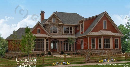 Garrell Associates Inc Ashton Manor House Plan 07324