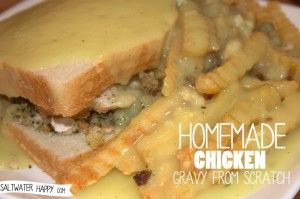 Homemade Chicken Gravy From Scratch - Saltwater Happy