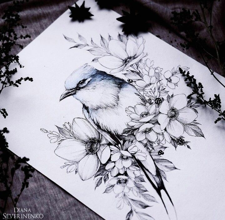 #Птицы #Тату
