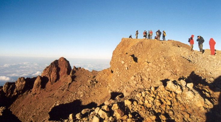 Mount Rinjani summit hike program offers the best services and the teams has been experienced organizing volcano trekking