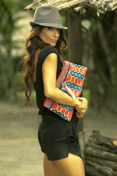 Fashion Designer, Tatiana Kamle and the Wayuu Ethnia Artisans of Colombia.