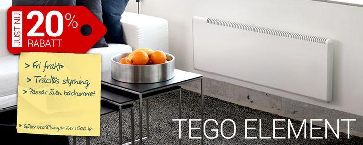 Element från Tego -20% http://www.smarthem.se/198/k/tego--20/
