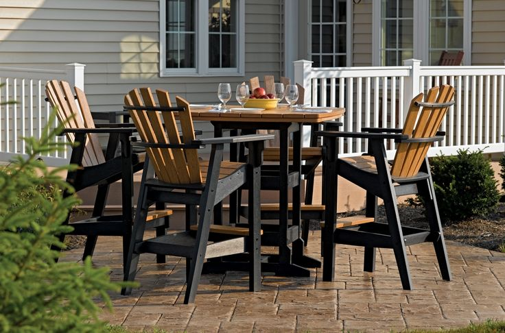 Outdoor High Dining Table Sets