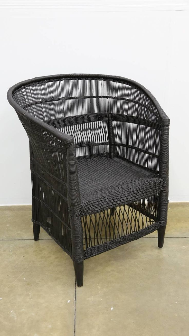 Amatuli Grass Chair (Black) from APlace
