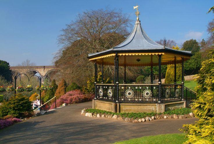 Truro, Bandstands, Bridges, Flowers, Gardens, Trees
