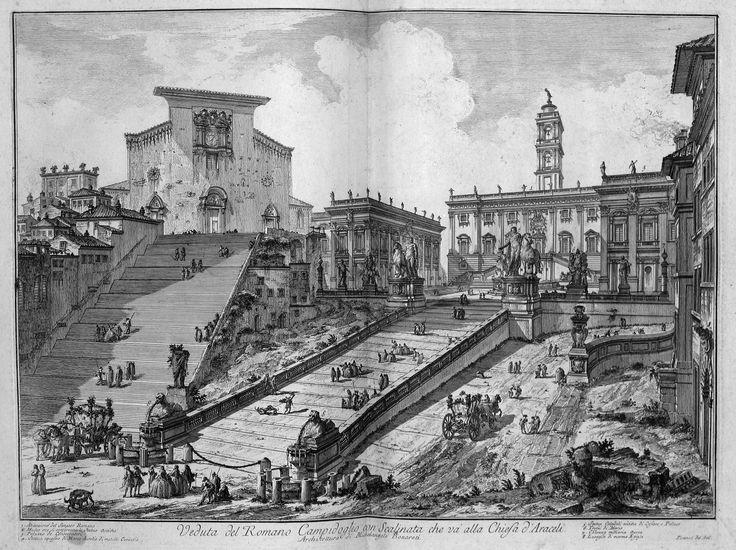 009a. Piranesi - Vedute di Roma - 1760.