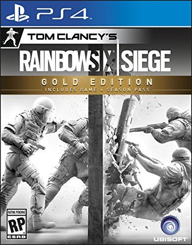 Tom Clancy's Rainbow Six Siege - Gold Edition - PlayStation 4 [Download Code]: Video Games