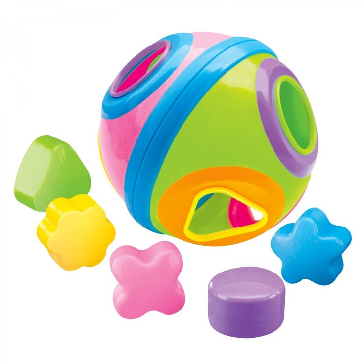 Baby will love this Puzzle Shapes Ball with finger holes which make it easy for baby to grasp, rattle and roll! The bright colours are great for encouraging interaction. The simple shapes and designs give babies and children the things they want to play with in a safe and fun format.  #Babygro #Baby #Fun #Ball #Toy #Puzzle #Play #Learn #Parenting  Available at Game stores http://www.game.co.za/babygro-puzzle-ball-with-shapes.html