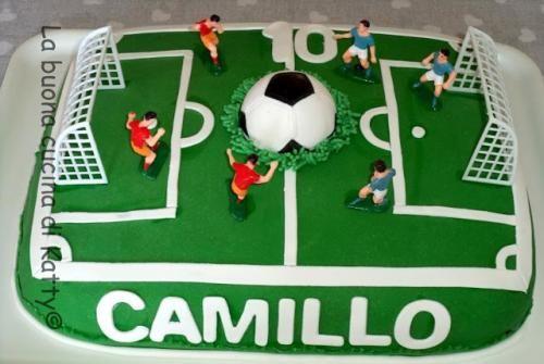Cibo: #Torta #campo di #calcio - football field cake (link: http://ift.tt/2bRJzUi )