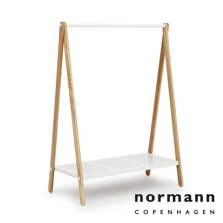 Normann Copenhagen Toj Clothes Rack Large White