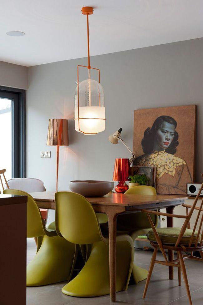 Panton Chair 25 Pinterest Eames
