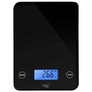 Smart Weigh GLS20 Poids Cuisine intelligente et de l'Alimentation échelle , boutons tactiles sonores , Modes de 5 unités , technologie…