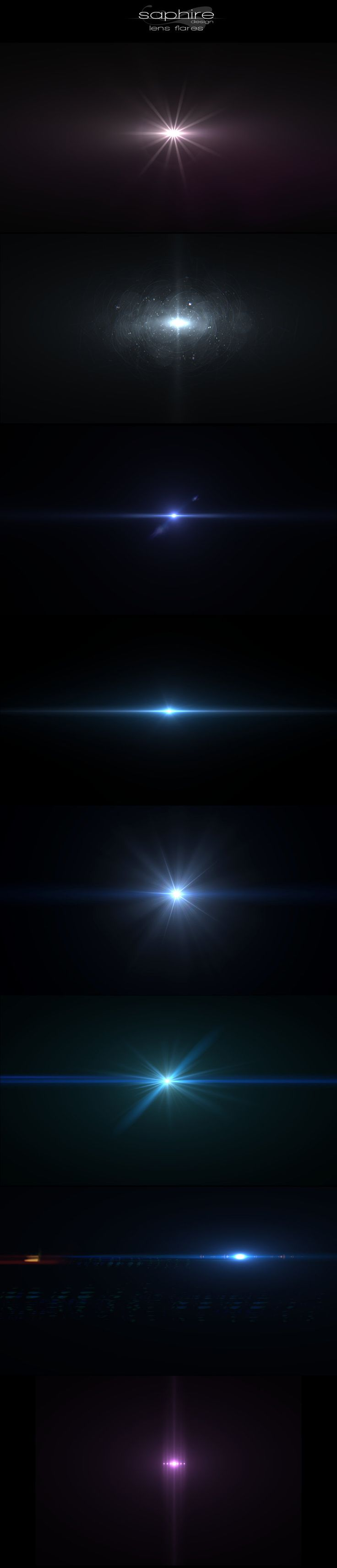 Amazing lens flares by ~SaphireDesign on deviantART