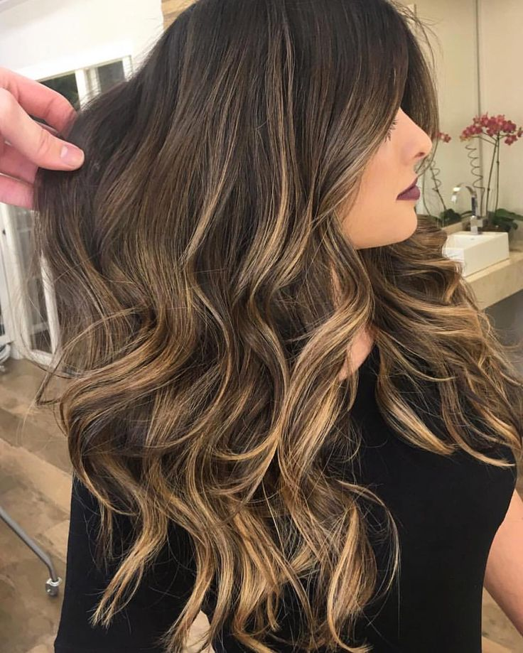 "5,630 Likes, 60 Comments - ✨BALAYAGE & BEAUTIFUL HAIR (@bestofbalayage) on Instagram: ""Sun Kissed Brunette  By @marcelocammpos #bestofbalayage #showmethebalayage"""