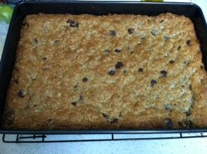 Cookie bars to increase milk supply - ridiculously tasty!