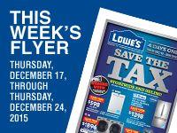 Lowe's Flyer | Lowe's Canada - Lowe's Canada