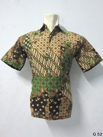 KODE G52 | IDR 70.000 | Bahan : katun prima, batik sablon kombinasi | Size M, L, XL | Hotline : 081333303545 | BB Pin 2128117C.