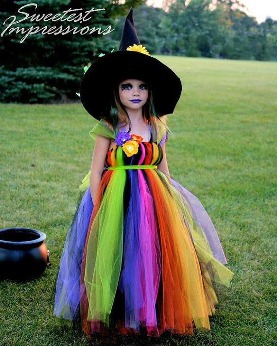 Halloween bruja traje vestido traje por AllDressedUpCouture