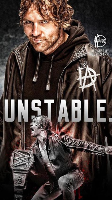 Dean Ambrose he so hot #WWE