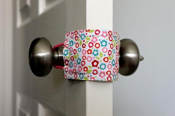 Pretty smart - it will 'shhhhhhush' a door for little ones sleeping