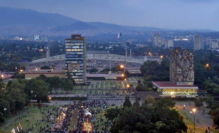 UNAM, University City, Mexico City.