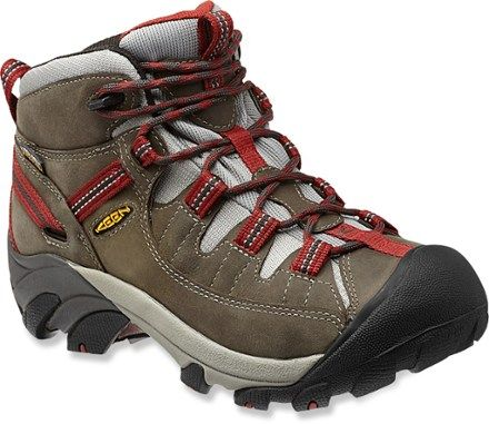 Keen Targhee II Mid Hiking Boots,Raven/Bossa Nova