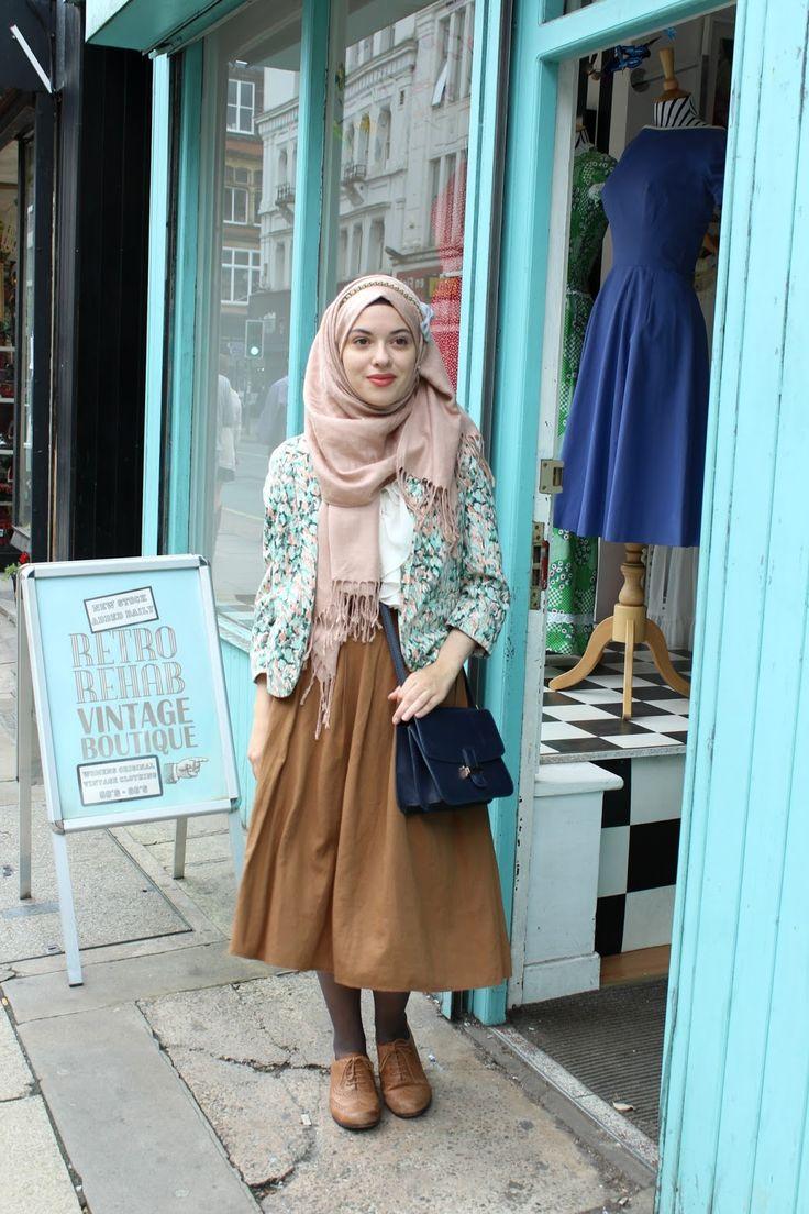 Vintagonista vintagonista: city tour, northern quarter, hijab style, hijab…