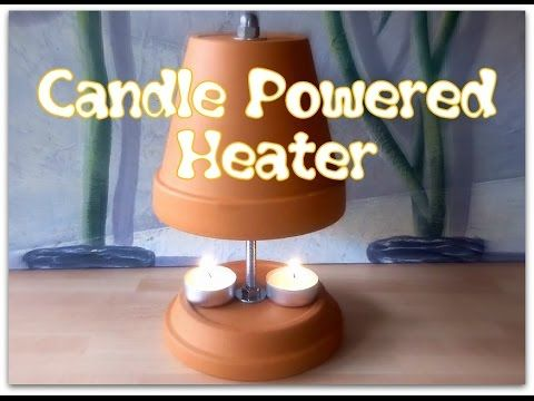 How To Build A Candle Powered Heater Diy Clay Pot Air