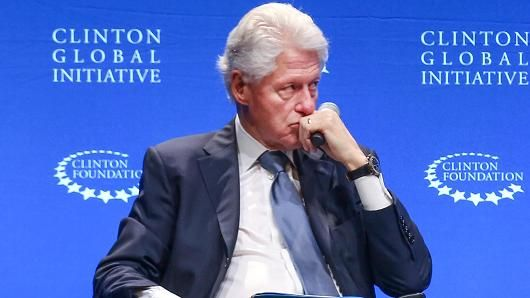 The Clinton Foundation is actually doing well, a huge charity, ranked highly as a charity ... Former US President, Bill Clinton speaking during a Clinton Foundation event