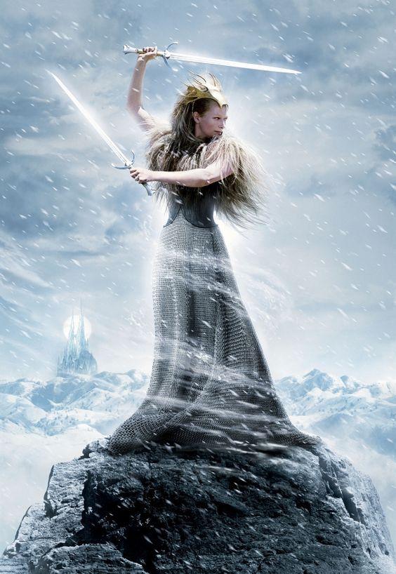 Tilda Swinton as Jadis, 'The White Witch' in Narnia (Andrew Adamson, 2005)! XD:
