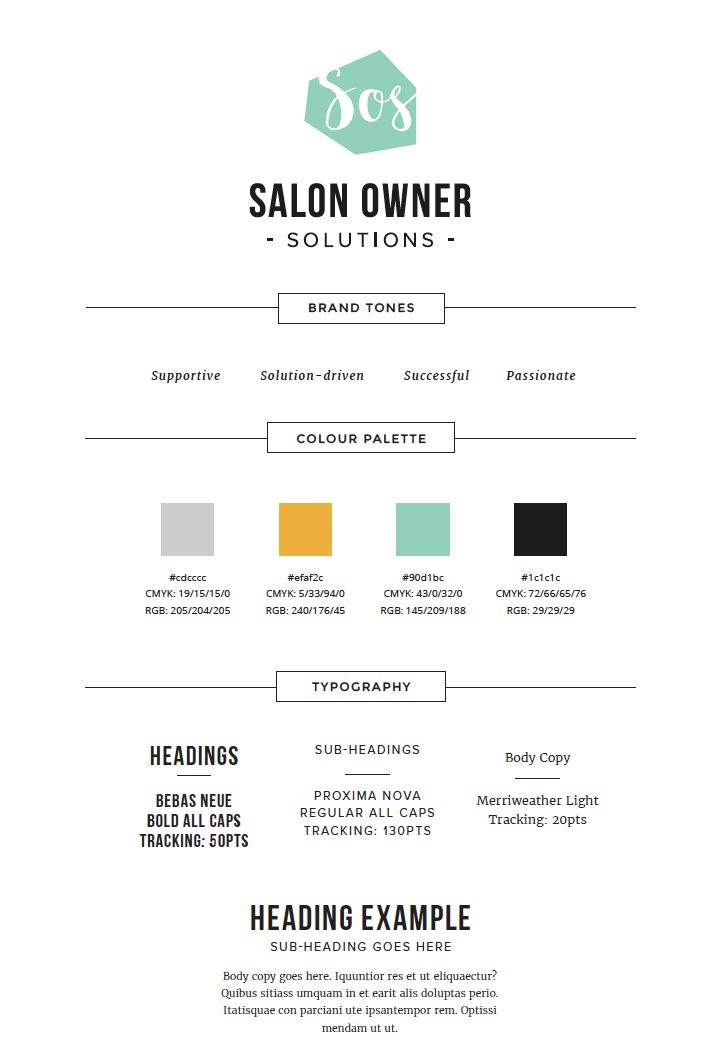Style sheet Salonownersolutions