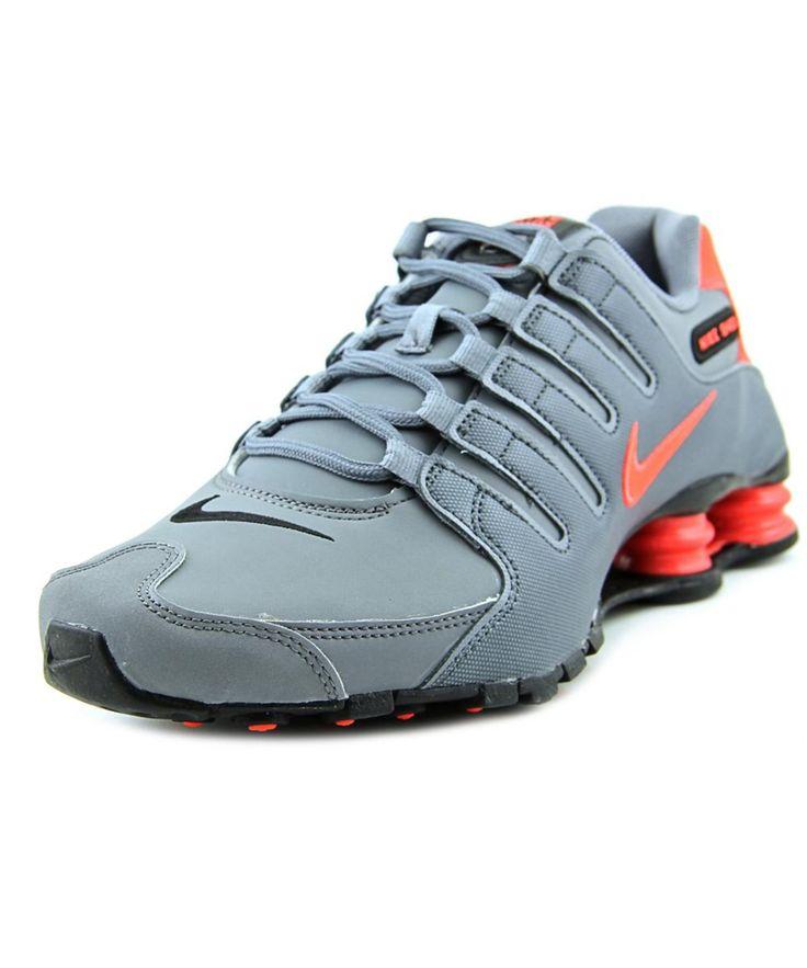 NIKE Nike Shox Nz   Round Toe Synthetic  Running Shoe'. #nike #shoes #sneakers