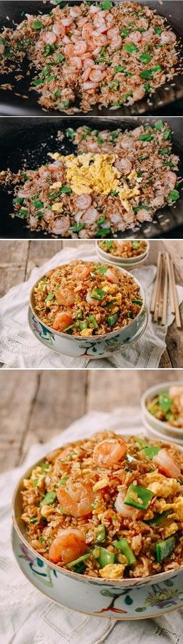 Shrimp Fried Rice recipe by the Woks of Life #shrimp #friedrice #chinese #takeout #classic
