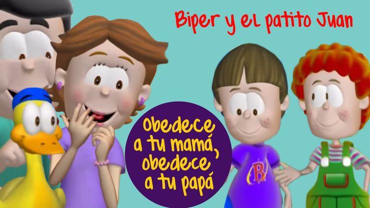 Biper y el Patito Juan, Obedece a tu mamá, obedece a tu papá !