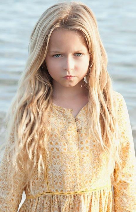 Beach shoot with Bella Webster from Mentor Model Agency #modelkids