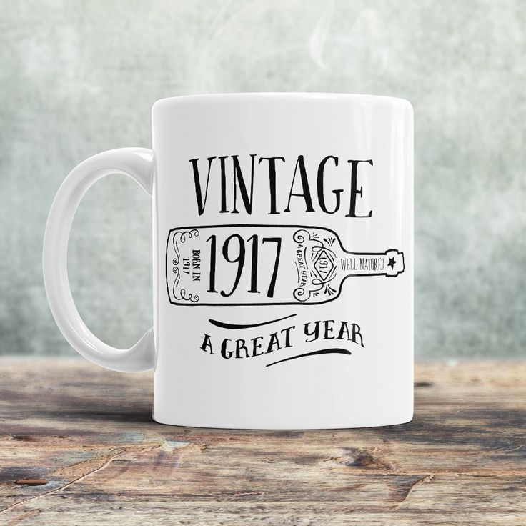 100th Birthday, 1917 Birthday, 100th Birthday Gift, 100th Birthday Idea, Vintage, 1917, Happy Birthday, 100th Birthday Present 100 year old!