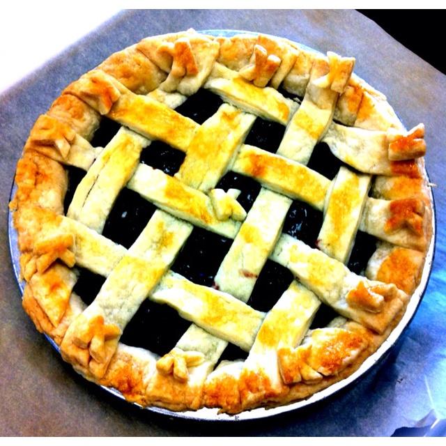 Saskatoon Berrie Pie