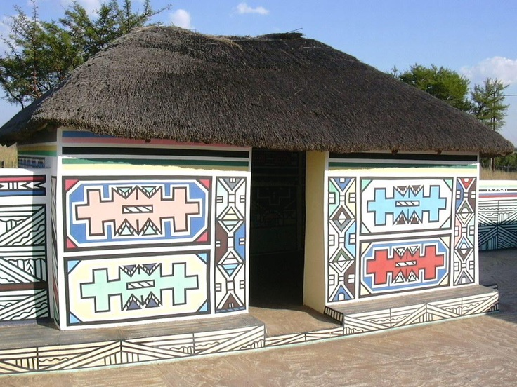 Ndebele house ndebele pinterest house africa art for Home designs zimbabwe