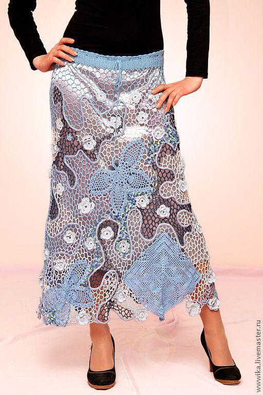 Вязание юбки топы платья