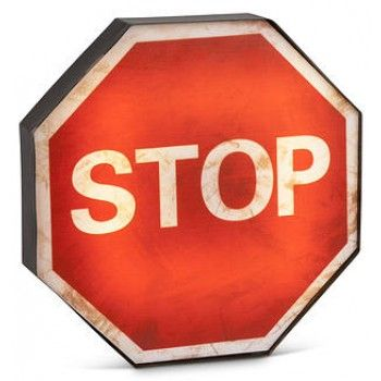 STOP SIGN OCTAGON LED