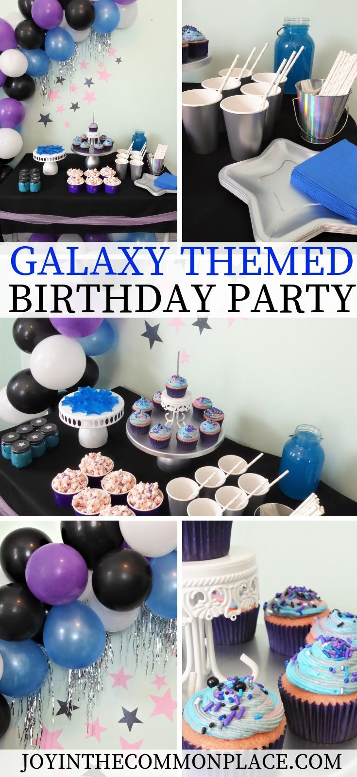 Host a Galaxy and Twinkling Star Themed Birthday Party for Kids