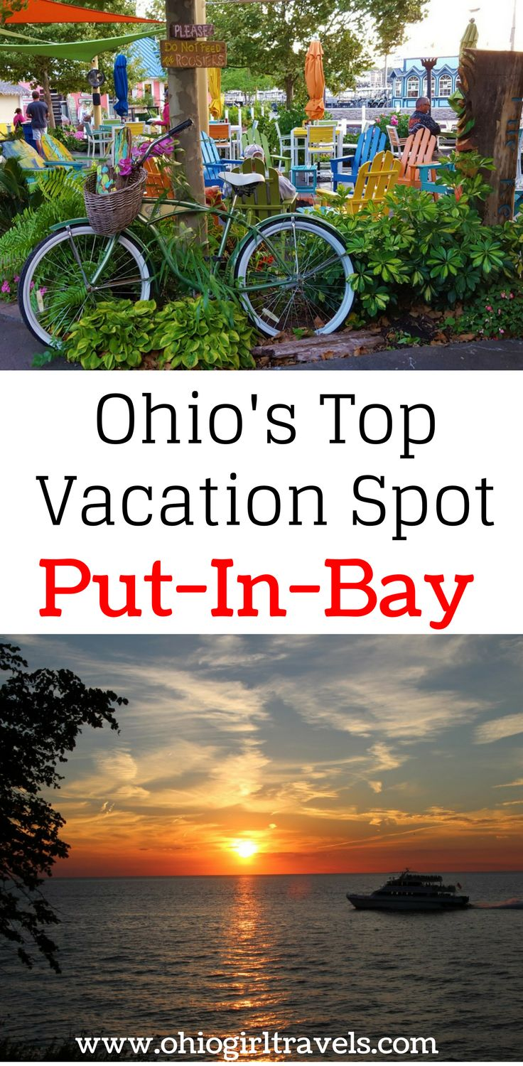 The picturesque village of Put-in-Bay has a nice island vibe that makes it a unique Ohio destination. This island has great bars, restaurants, shops, and outdoor activities to enjoy. One of my favorite parts was the incredible sunsets and beautiful lake views. Check out our guide so you know where to stay, what to do, where to eat and drink, where to shop, and where to explore in Put-in-Bay Ohio. USA Travel.