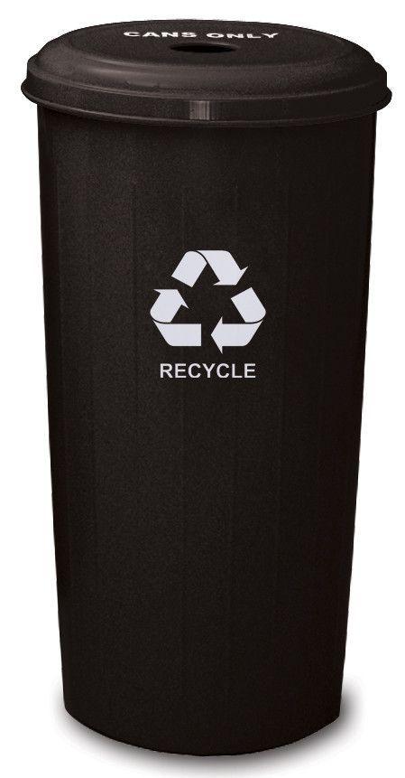 Metal Recycling 20-Gal Industrial Recycling Bin