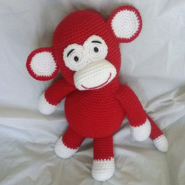329 best monos amigurumi images on Pinterest | Juguetes de ganchillo ...